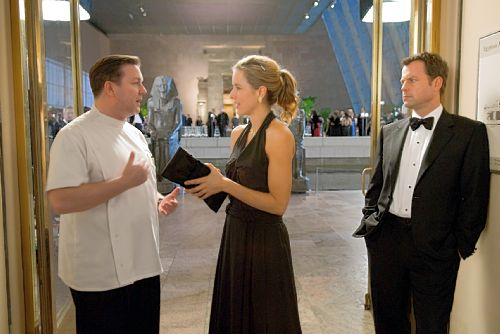 Ricky Gervais, Téa Leoni, and Rick Kinnear in Ghost Town