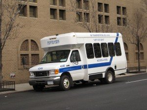 access-a-ride van